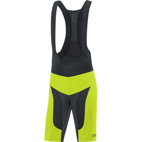GORE WEAR C7 Pro 2in1 Bib Shorts Herre citrus green/black